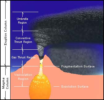 Cotopaxi eruption model of a plinian eruption characteristic of many stratovolcanos including cotopaxi ccuart Gallery