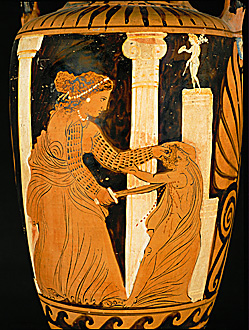 a literary analysis of trifles medea and lysistrata Lysistrata analysis literary devices in lysistrata  aristophanes' lysistrata takes  place in the ancient greek city of athens actually, that's not quite right: for him,.